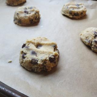 Oat Bran Chocolate Chip Cookies