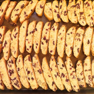 Mom's Secret Dried Cranberry Biscotti