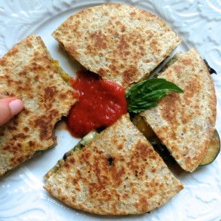 Italian Vegetable Quesadillas