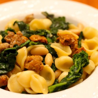 Broccoli Rabe and Sausage Pasta