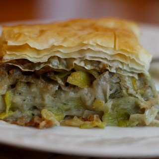 Greek Leek Pie (Prasopita)