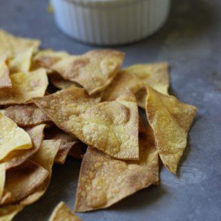 Homemade Corn Chips