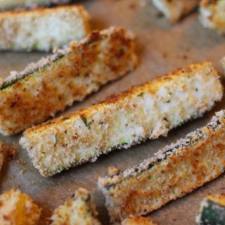 Breaded Zucchini Wedges