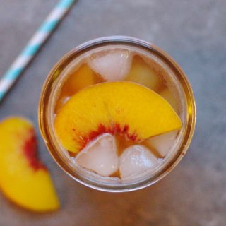 Carolina Peach Lemon Tea