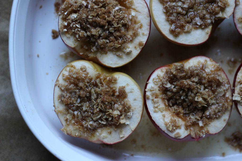 Stuffed Baked Apples - baked apples