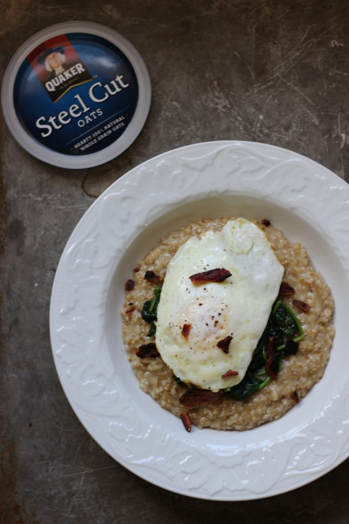 Savory Oatmeal with Spinach and Egg - final 1