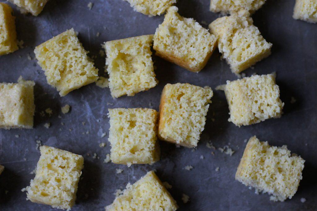 Simple Cornbread Stuffing - cornbread