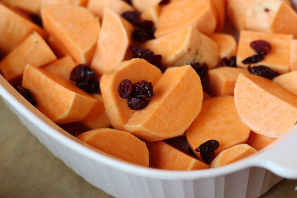 Craisin Sweet Potatoes - craisins