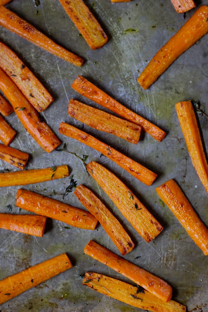 Thyme Roasted Carrots - final 2