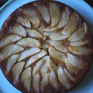 Vegan Apple Upside-Down Cake