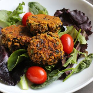 Sweet Potato and Black Bean Falafel