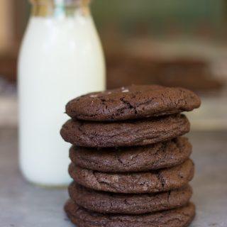 Salted Caramel Surprise Cookies