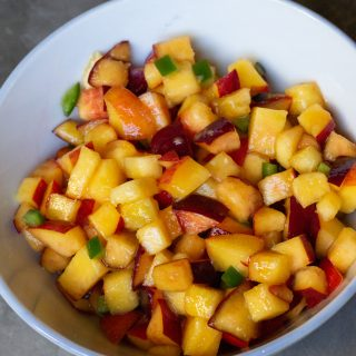 Peach Jalapeño Salsa