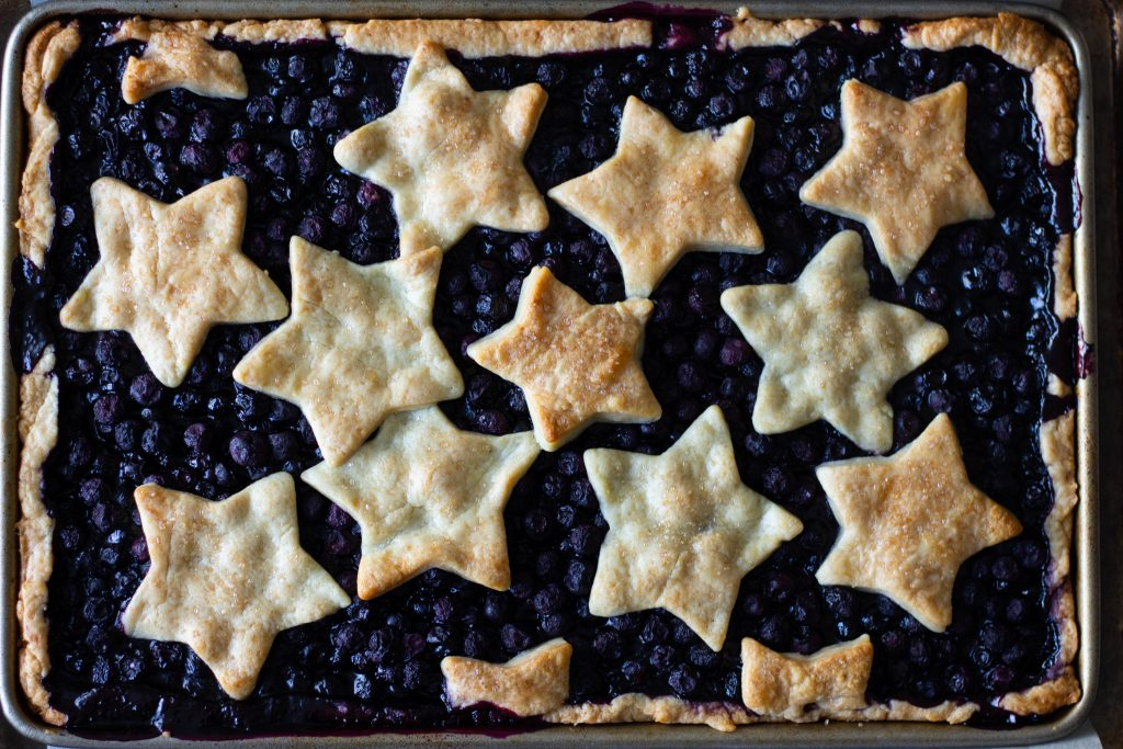 Blueberry Slab Pie 1