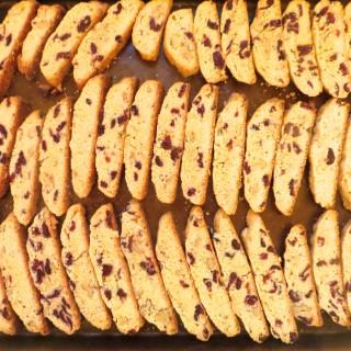 Mom's Secret Dried Cranberry Biscotti