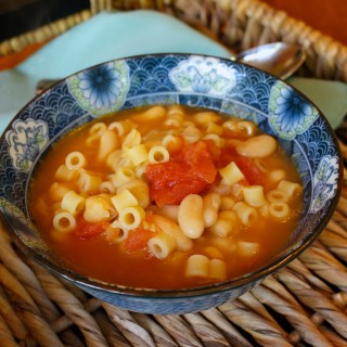 Hunger Action Month: Bean and Pasta Soup