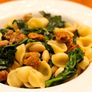 Broccoli Rabe and Sausage Pasta