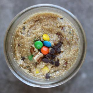 Edible Monster Cookie Dough