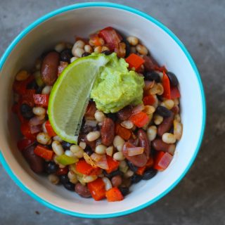 The Easiest Beans and Rice
