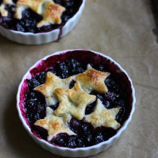 Blueberry Pies for Two