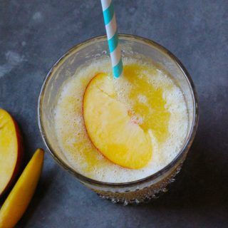 Peach Wine Slush