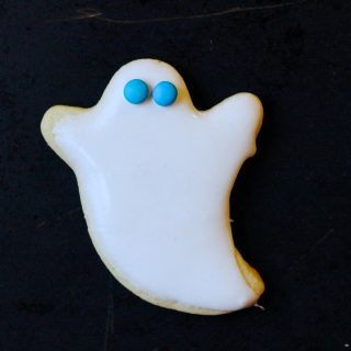 Sugar Ghost Cookies