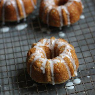 Spiced Apple Bundt Cakes