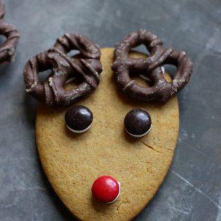 Gingerbread Reindeer Cookies